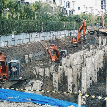 Padang - Owner's claim on bored pile defects to piling contractor. 2017