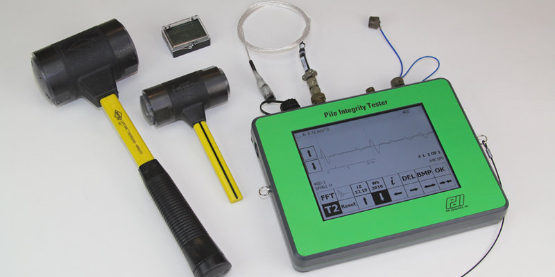 Pile Integrity Tester (PIT)